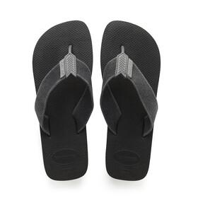 havaianas Urban Basic - Sandales Homme - gris/noir